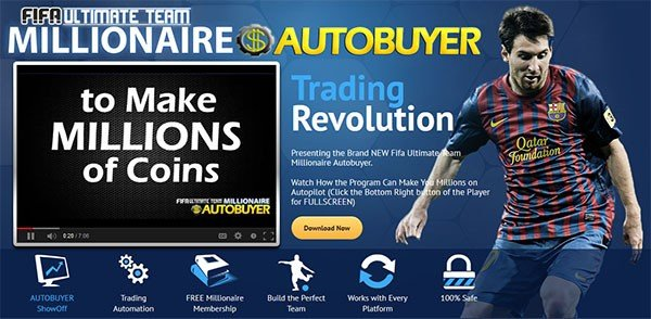 FUT Millionaire Autobuyer and Trading Tool Review - Does it